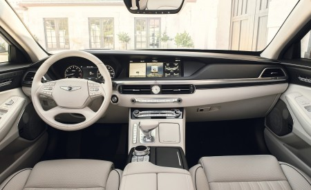 2020 Genesis G90 Interior Cockpit Wallpapers 450x275 (17)