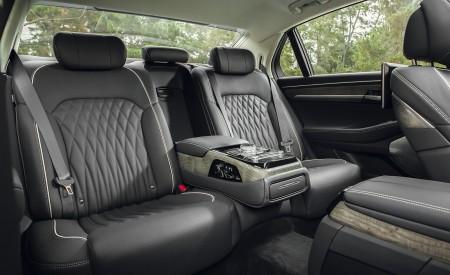 2020 Genesis G90 Interior Rear Seats Wallpapers 450x275 (37)