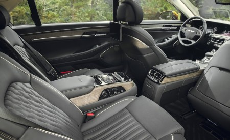 2020 Genesis G90 Interior Rear Seats Wallpapers 450x275 (27)