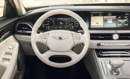 2020 Genesis G90 Interior Steering Wheel Wallpapers 450x275 (16)