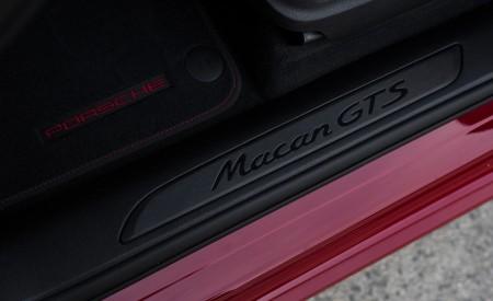 2020 Porsche Macan GTS (Color: Carmine Red) Door Sill Wallpapers 450x275 (42)