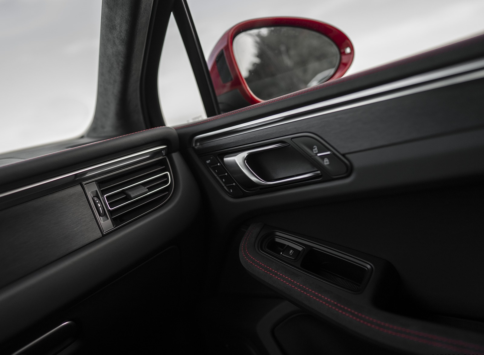 2020 Porsche Macan Gts Color Carmine Red Interior Detail Wallpapers 51 Newcarcars