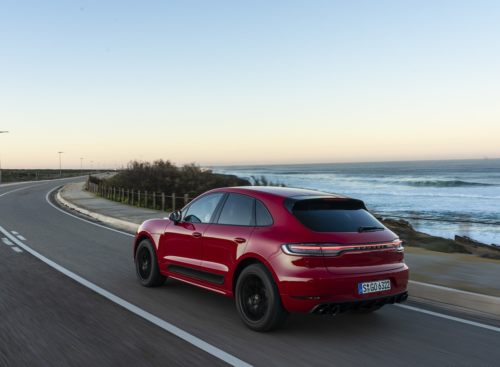2020 Porsche Macan GTS (Color: Carmine Red) Rear Three-Quarter Wallpapers (9)