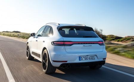 2020 Porsche Macan GTS (Color: Carrara White Metallic) Rear Three-Quarter Wallpapers 450x275 (170)