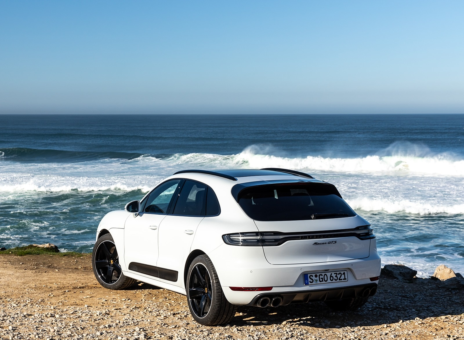 2020 Porsche Macan Gts Color Carrara White Metallic Rear Three Quarter Wallpapers 184 Newcarcars
