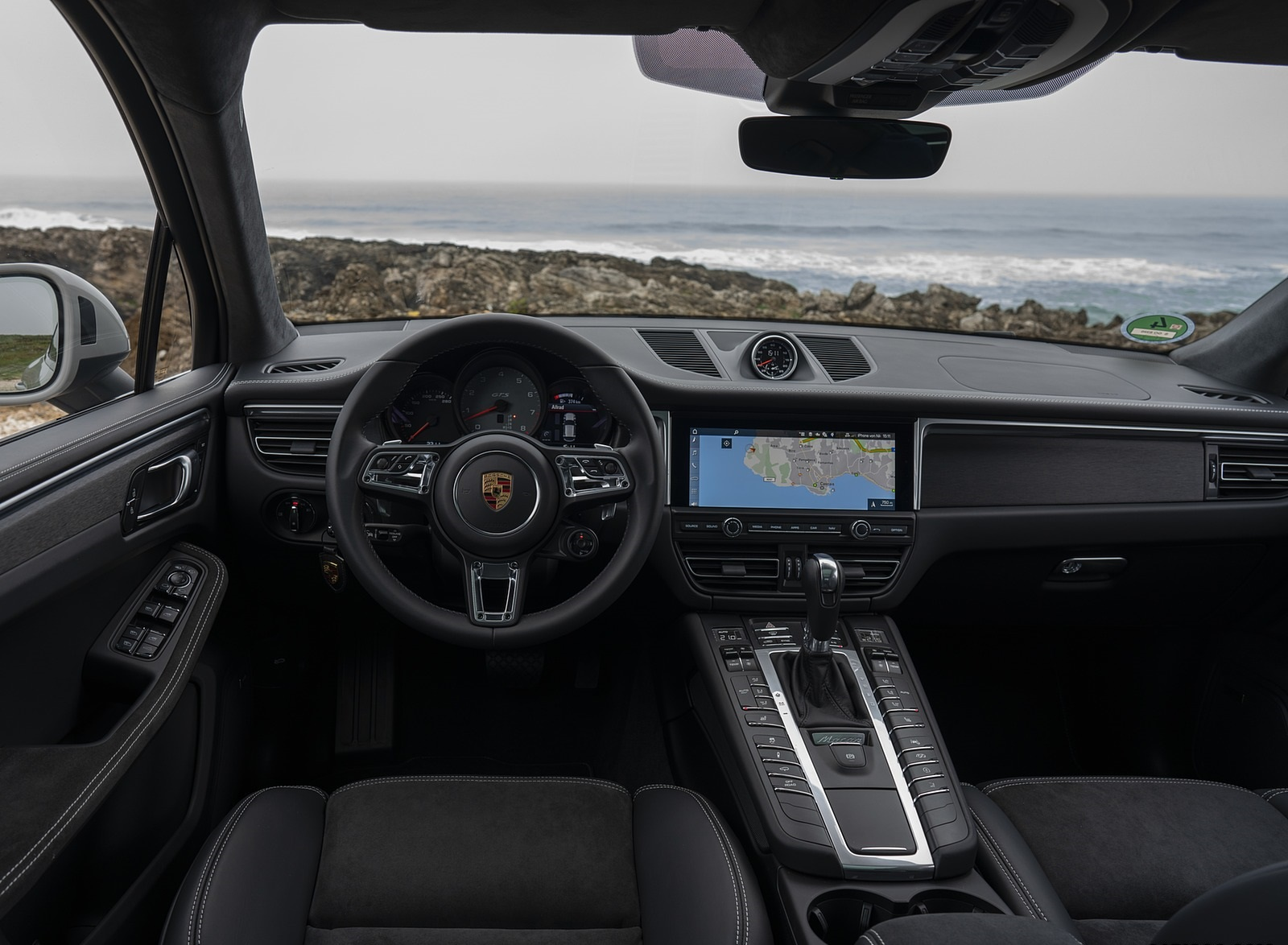 2020 Porsche Macan Gts Color Crayon Interior Cockpit Wallpapers 105 Newcarcars