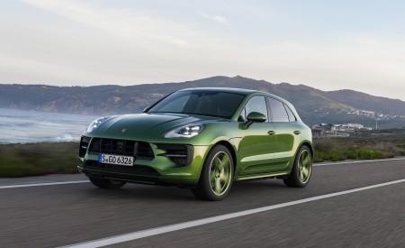 2020 Porsche Macan GTS (Color: Mamba Green Metallic) Front Three-Quarter Wallpapers 450x275 (122)
