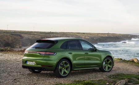 2020 Porsche Macan GTS (Color: Mamba Green Metallic) Rear Three-Quarter Wallpapers 450x275 (139)