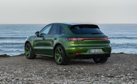 2020 Porsche Macan GTS (Color: Mamba Green Metallic) Rear Three-Quarter Wallpapers 450x275 (141)
