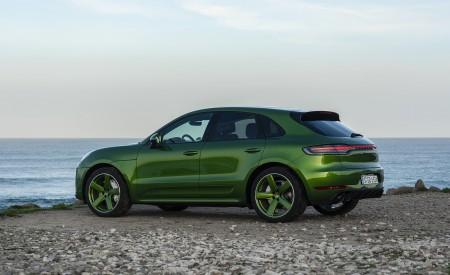 2020 Porsche Macan GTS (Color: Mamba Green Metallic) Side Wallpapers 450x275 (145)