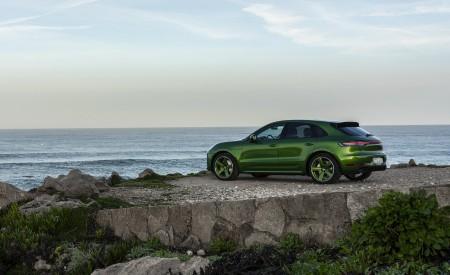 2020 Porsche Macan GTS (Color: Mamba Green Metallic) Side Wallpapers 450x275 (147)