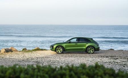 2020 Porsche Macan GTS (Color: Mamba Green Metallic) Side Wallpapers 450x275 (133)