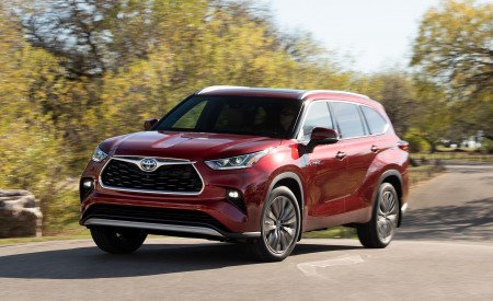 2020 Toyota Highlander Platinum Hybrid AWD Wallpapers HD