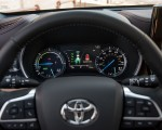 2020 Toyota Highlander Platinum Hybrid AWD (Color: Ruby Flare Pearl) Instrument Cluster Wallpapers 150x120 (24)