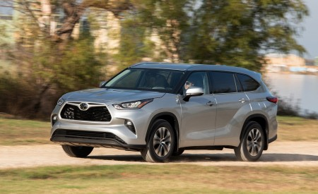 2020 Toyota Highlander XLE AWD Wallpapers HD