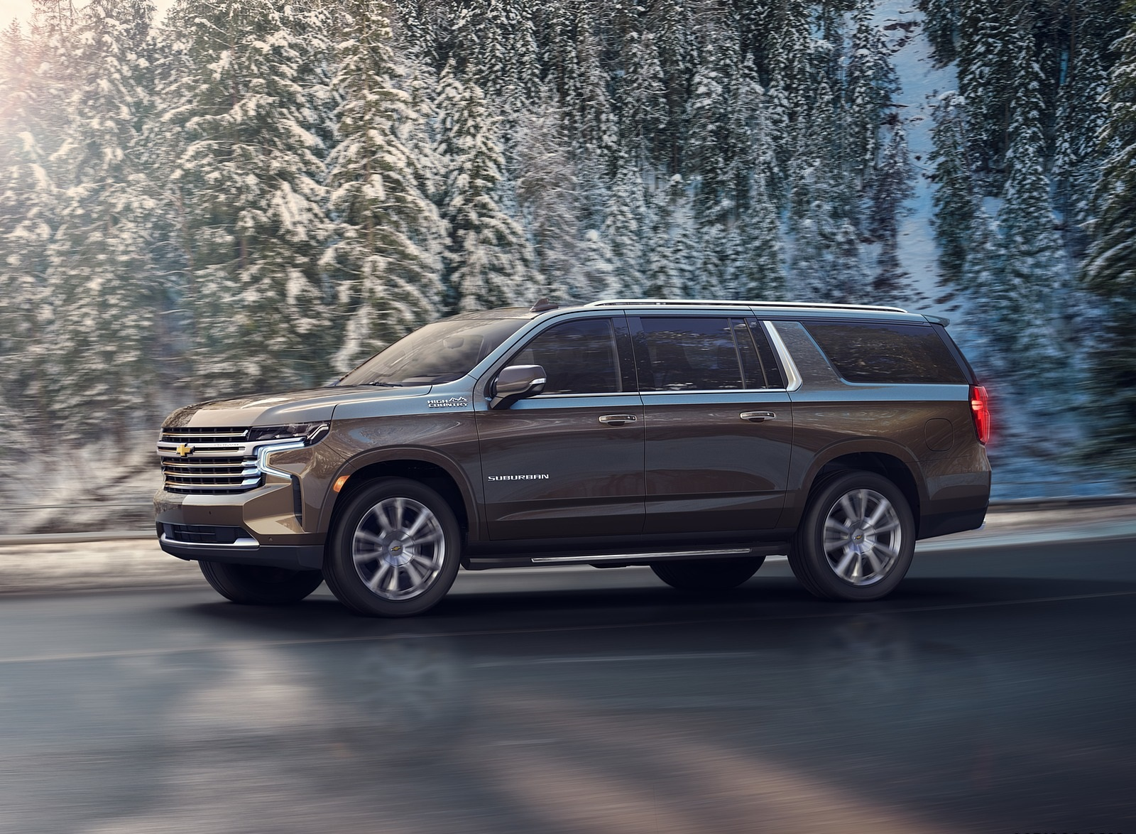 2021 Chevrolet Suburban Front Three-Quarter Wallpapers (2)