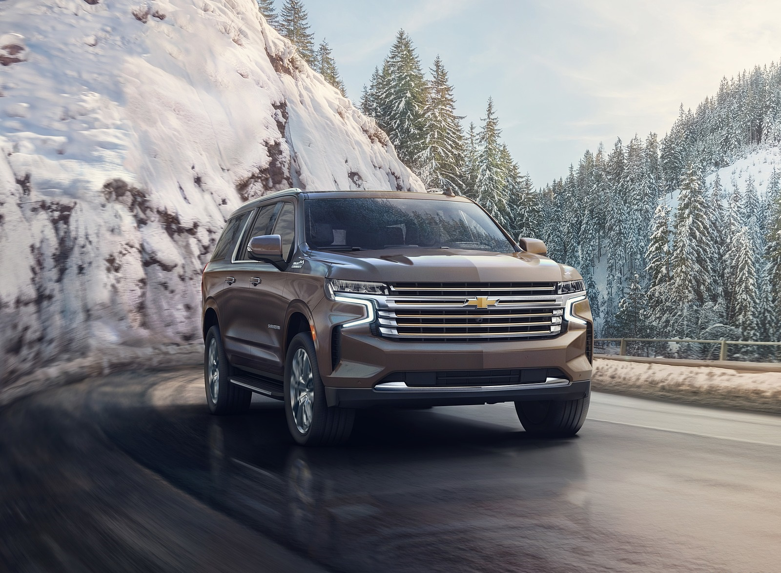 2021 Chevrolet Suburban Front Wallpapers (1)