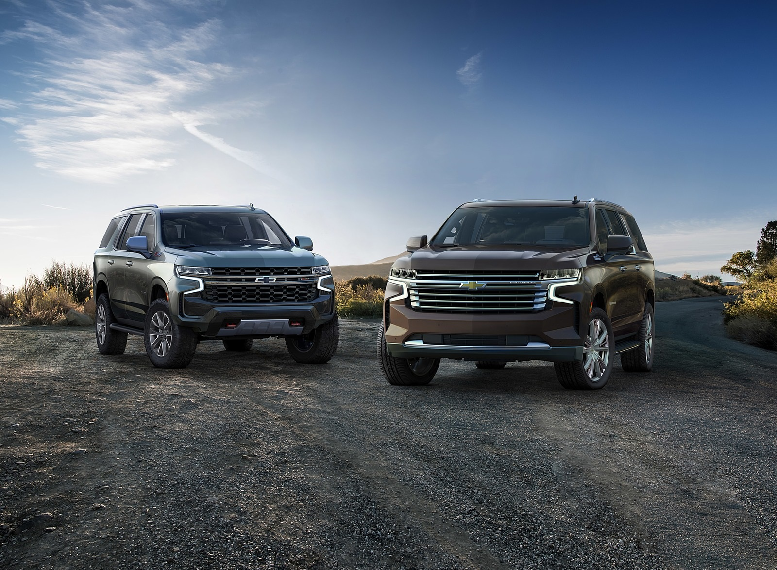 2021 Chevrolet Suburban and Tahoe Wallpapers (4)