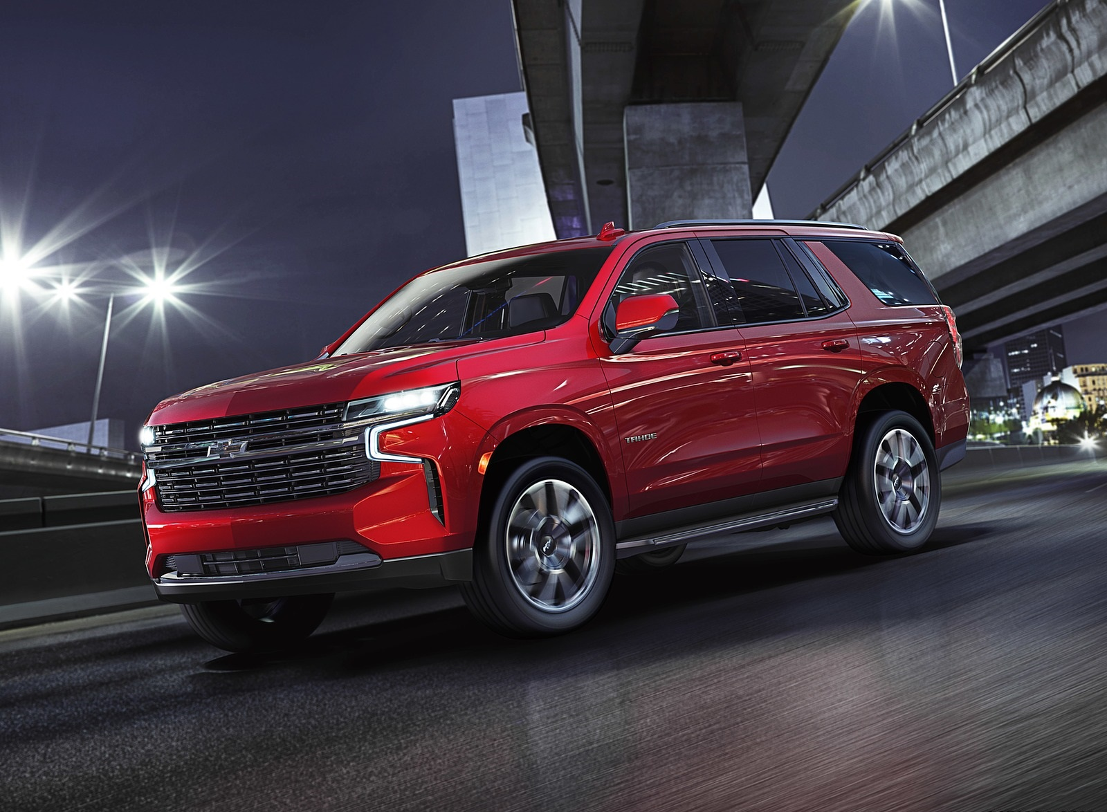 2021 Chevrolet Tahoe RST Front Three-Quarter Wallpapers (7)