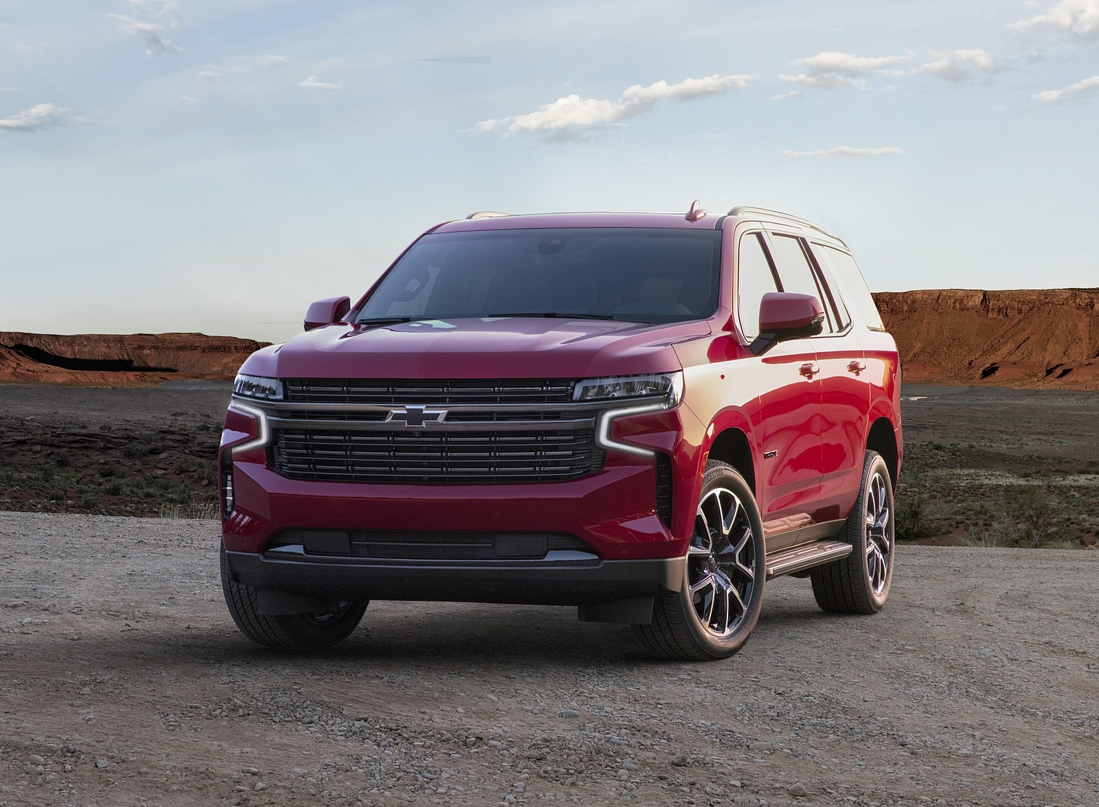2021 Chevrolet Tahoe RST Front Wallpapers (4)