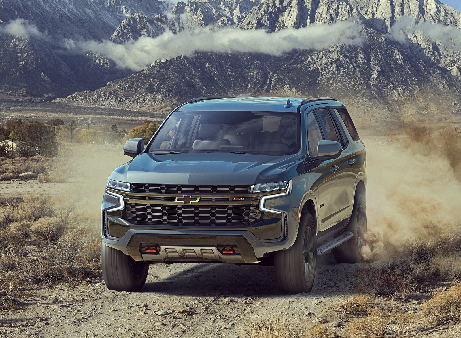 2021 Chevrolet Tahoe Z71 Off-Road Wallpapers (1)