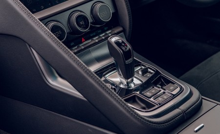 2021 Jaguar F-TYPE Coupe R-Dynamic P450 AWD (Color: Eiger Grey) Central Console Wallpapers 450x275 (96)