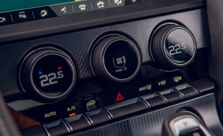2021 Jaguar F-TYPE Coupe R-Dynamic P450 AWD (Color: Eiger Grey) Central Console Wallpapers 450x275 (95)