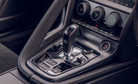 2021 Jaguar F-TYPE Coupe R-Dynamic P450 AWD (Color: Eiger Grey) Central Console Wallpapers 450x275 (93)