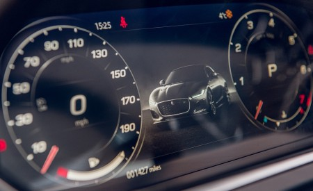 2021 Jaguar F-TYPE Coupe R-Dynamic P450 AWD (Color: Eiger Grey) Digital Instrument Cluster Wallpapers 450x275 (90)