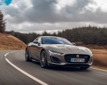 2021 Jaguar F-TYPE Coupe R-Dynamic P450 AWD (Color: Eiger Grey) Front Three-Quarter Wallpapers 150x120 (43)