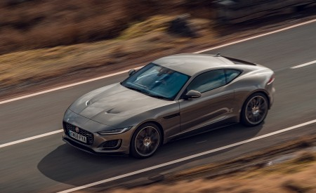 2021 Jaguar F-TYPE Coupe R-Dynamic P450 AWD (Color: Eiger Grey) Front Three-Quarter Wallpapers 450x275 (46)