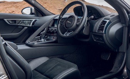 2021 Jaguar F-TYPE Coupe R-Dynamic P450 AWD (Color: Eiger Grey) Interior Wallpapers 450x275 (88)