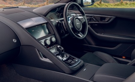 2021 Jaguar F-TYPE Coupe R-Dynamic P450 AWD (Color: Eiger Grey) Interior Wallpapers 450x275 (87)