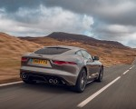 2021 Jaguar F-TYPE Coupe R-Dynamic P450 AWD (Color: Eiger Grey) Rear Wallpapers 150x120 (48)