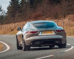 2021 Jaguar F-TYPE Coupe R-Dynamic P450 AWD (Color: Eiger Grey) Rear Wallpapers 150x120 (47)