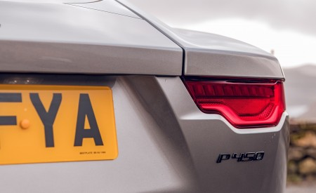 2021 Jaguar F-TYPE Coupe R-Dynamic P450 AWD (Color: Eiger Grey) Tail Light Wallpapers 450x275 (75)