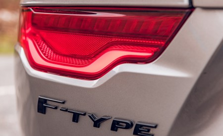 2021 Jaguar F-TYPE Coupe R-Dynamic P450 AWD (Color: Eiger Grey) Tail Light Wallpapers 450x275 (67)