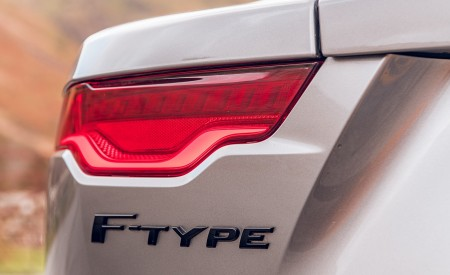 2021 Jaguar F-TYPE Coupe R-Dynamic P450 AWD (Color: Eiger Grey) Tail Light Wallpapers 450x275 (74)