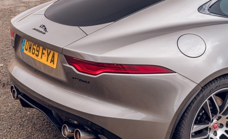 2021 Jaguar F-TYPE Coupe R-Dynamic P450 AWD (Color: Eiger Grey) Tail Light Wallpapers 450x275 (73)