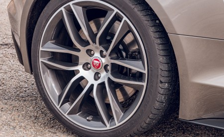 2021 Jaguar F-TYPE Coupe R-Dynamic P450 AWD (Color: Eiger Grey) Wheel Wallpapers 450x275 (71)