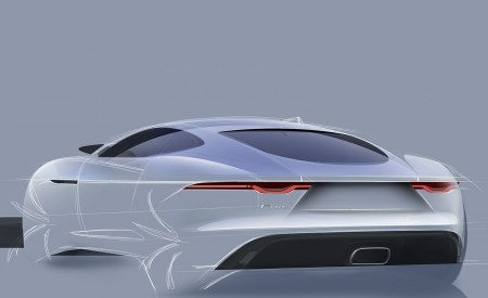 2021 Jaguar F-TYPE Design Sketch Wallpapers 450x275 (140)