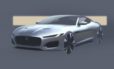 2021 Jaguar F-TYPE Design Sketch Wallpapers 450x275 (34)
