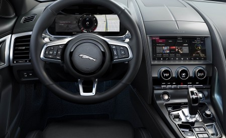 2021 Jaguar F-TYPE Interior Wallpapers 450x275 (30)