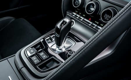 2021 Jaguar F-TYPE R Coupe AWD (Color: Sorrento Yellow) Central Console Wallpapers 450x275 (42)