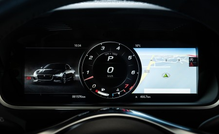 2021 Jaguar F-TYPE R Coupe AWD (Color: Sorrento Yellow) Digital Instrument Cluster Wallpapers 450x275 (41)