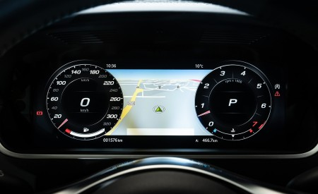 2021 Jaguar F-TYPE R Coupe AWD (Color: Sorrento Yellow) Digital Instrument Cluster Wallpapers 450x275 (40)