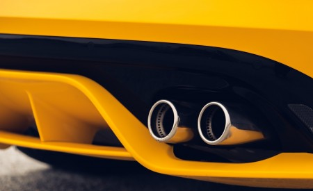 2021 Jaguar F-TYPE R Coupe AWD (Color: Sorrento Yellow) Exhaust Wallpapers 450x275 (31)
