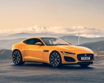 2021 Jaguar F-TYPE R Coupe AWD (Color: Sorrento Yellow) Front Three-Quarter Wallpapers 150x120 (21)