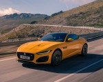 2021 Jaguar F-TYPE R Coupe AWD (Color: Sorrento Yellow) Front Three-Quarter Wallpapers 150x120 (9)