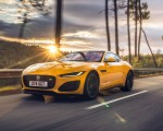 2021 Jaguar F-TYPE R Coupe AWD (Color: Sorrento Yellow) Front Three-Quarter Wallpapers 150x120 (2)